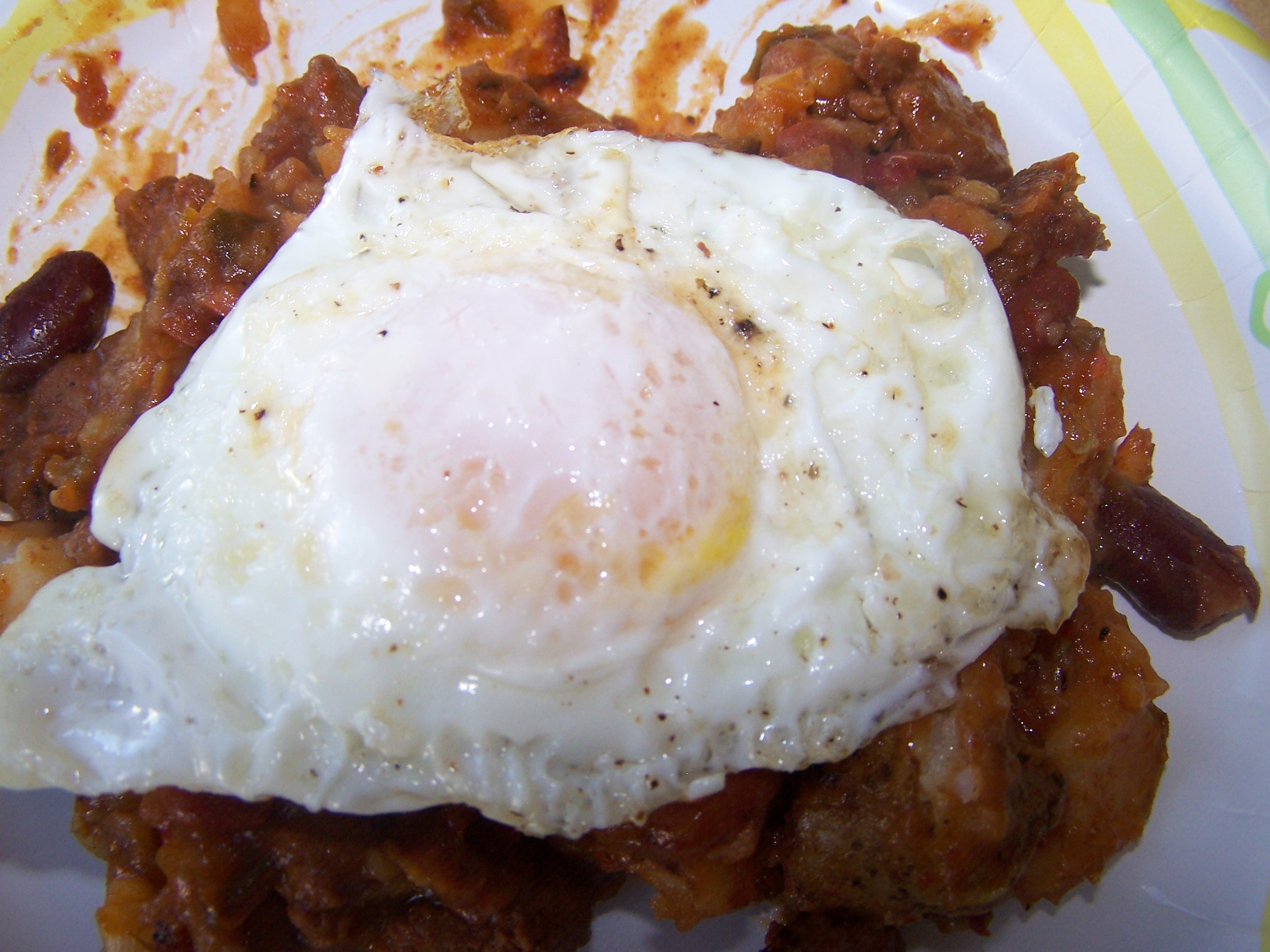 Breakfast Chili Potato Hash
