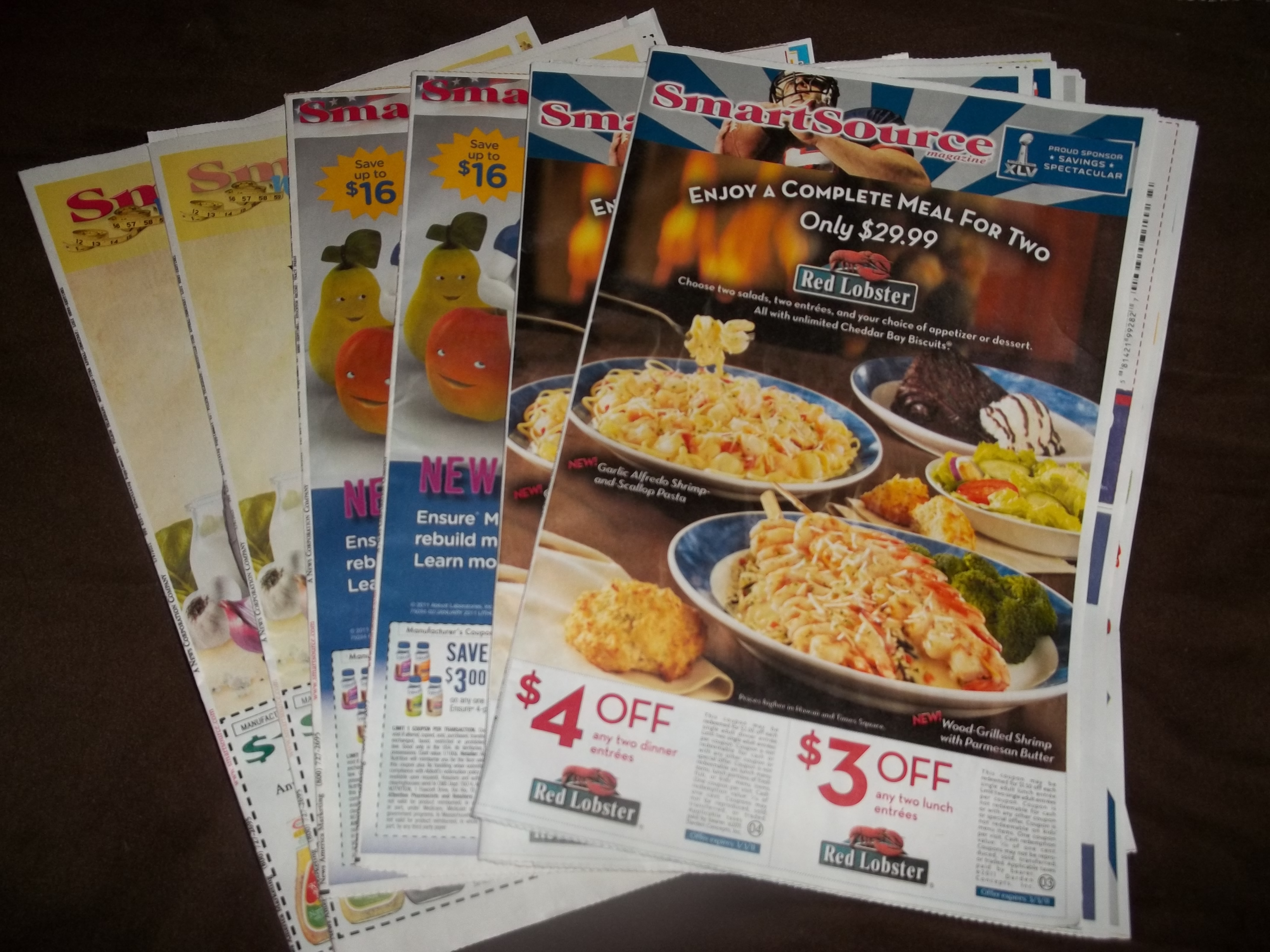 *GIVEAWAY* – SIX Smart Source Coupon Inserts: CLOSED