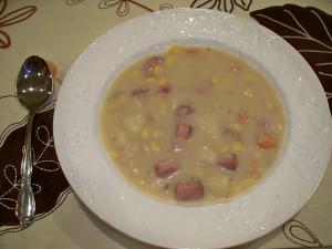 Potato and Ham Soup Recipe