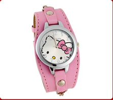 Hello Kitty Watches from $2.89 + MP3 Player for $5.29 + Free Shipping