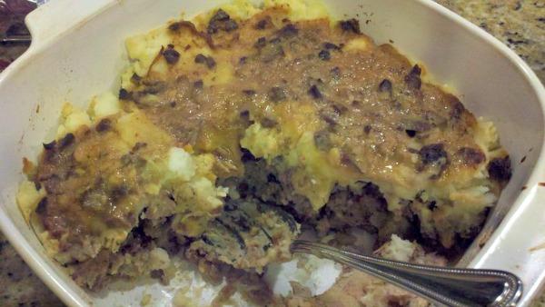 Leftover Thanksgiving Dinner Casserole