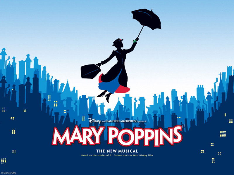 Mary Poppins on Broadway + the New Amsterdam Theatre
