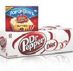 dr pepper and orville redenbacher