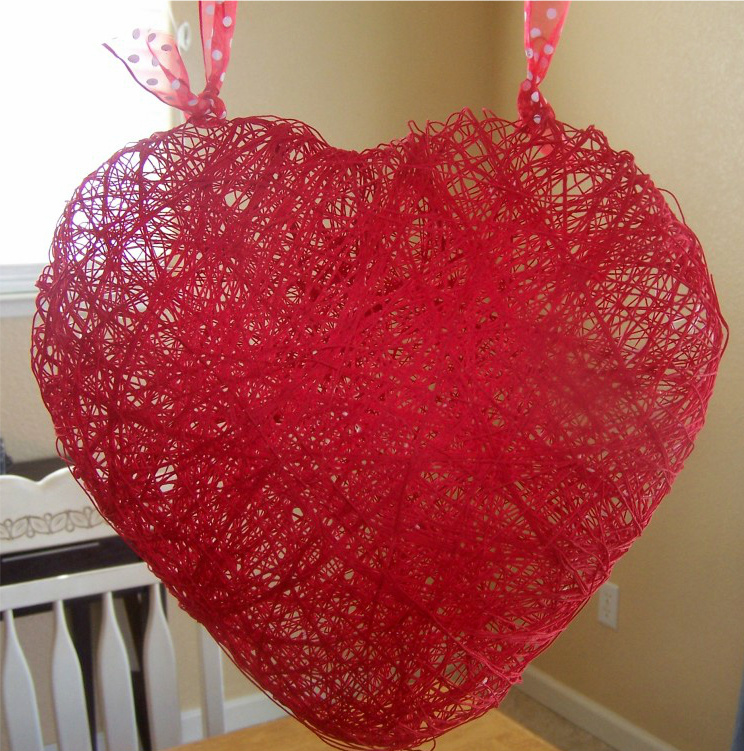 Pinterest Challenge: Heart Craft + Nominate Next Week's Project