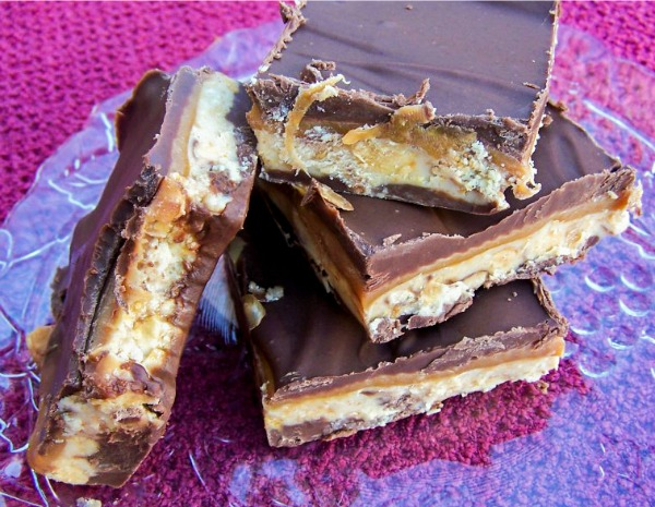 Homemade Snickers