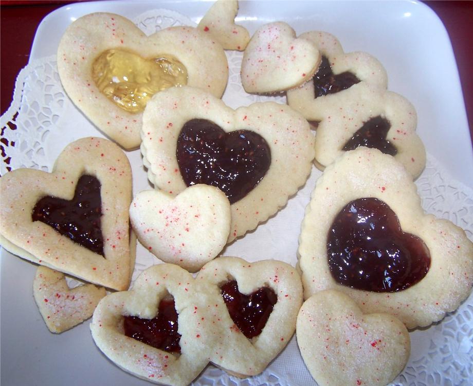 Jam Valentine Cookies