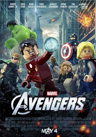 """Marvel's """"The Avengers"""" New Lego Poster, Toys and Sweet Military Dad Video"""