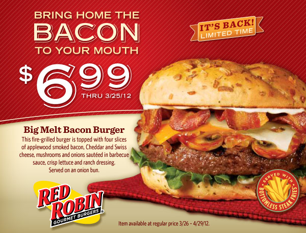 Red robin coupons march 2019