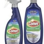 comet stainless steel cleaner