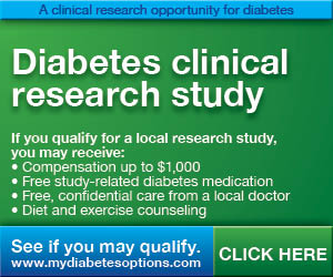 Get Paid To Be In a Diabetes Clinical Research Study!!!