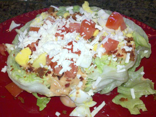 Pinterest Challenge: Lettuce Wedge Salad and Love Potion + Nominate Next Week's Project