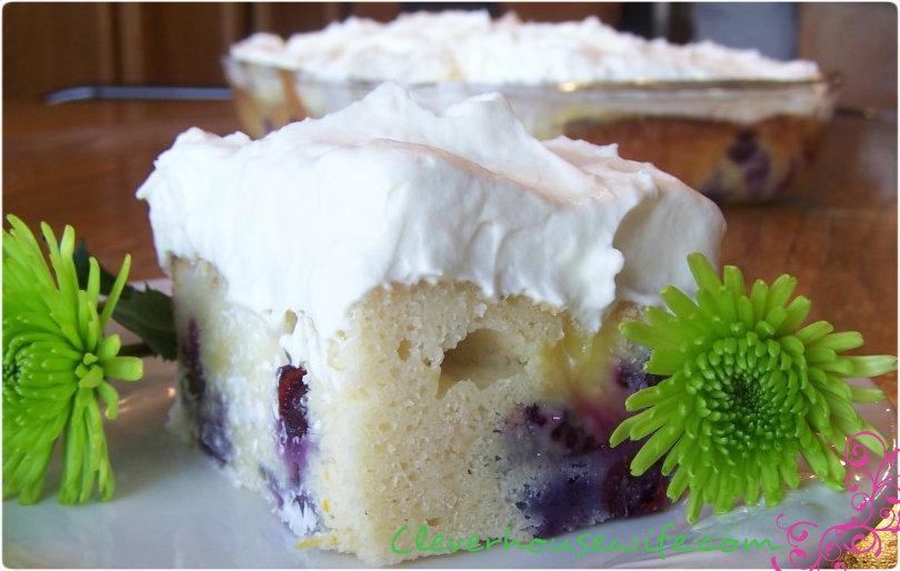 Lemon-Blueberry Cake Recipe