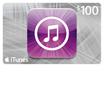 $80 for a $100 iTunes Gift Card!