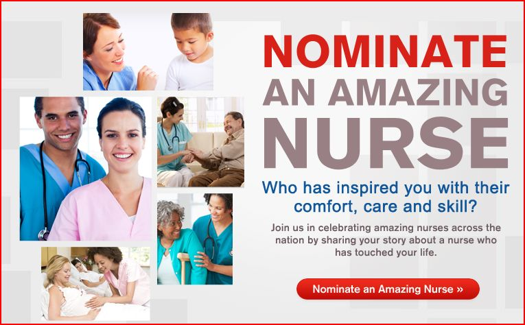 "Nurses Who Changed My Life + the ""Amazing Nurse Contest"""