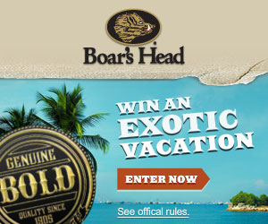 Win a Trip to An Exotic Destination + Daily Prizes!!