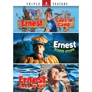 Ernest Goes to Camp, Ernest Scared Stupid and Ernest Goes to Jail (Triple Feature) Only $4.49!!!
