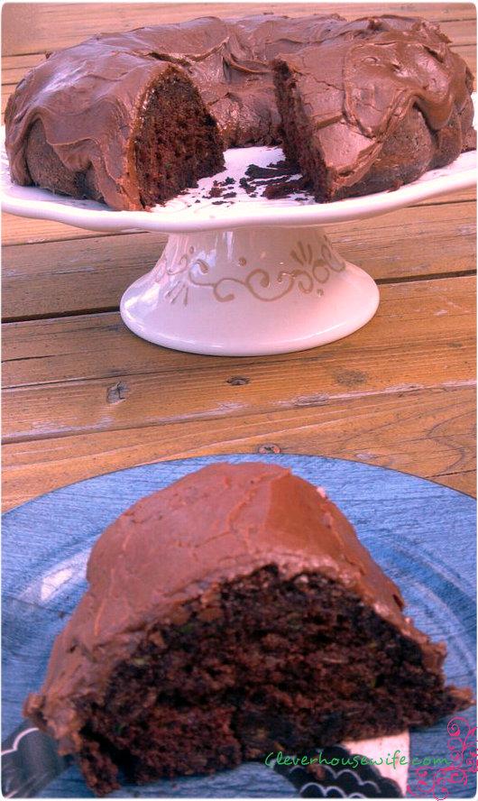 Chocolate Cinnamon Zucchini Cake