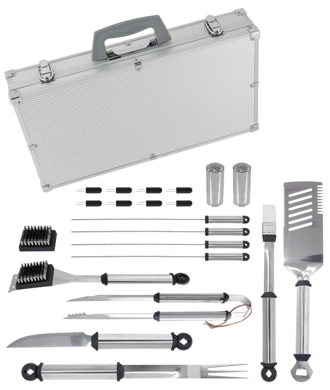 Win a 21 Piece Stainless Steel Mr Bar-B-Q Tool Set With Aluminum Case