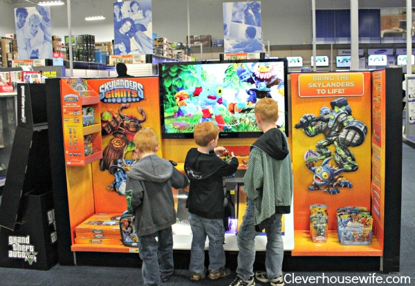 Skylanders Giants Best Buy Demo