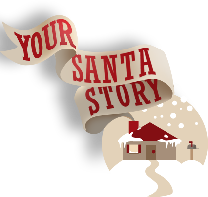 """Your Santa Story"" Christmas Morning DVD From Santa"