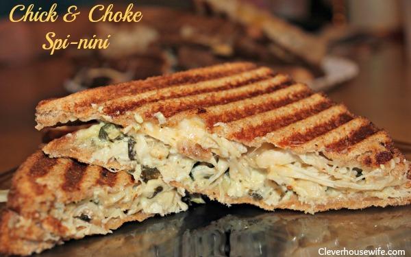 Chick & Choke Spi-nini Panini Recipe