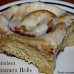 cinnabon cinnamon rolls 2