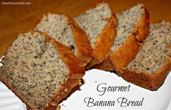 Gourmet Banana Bread