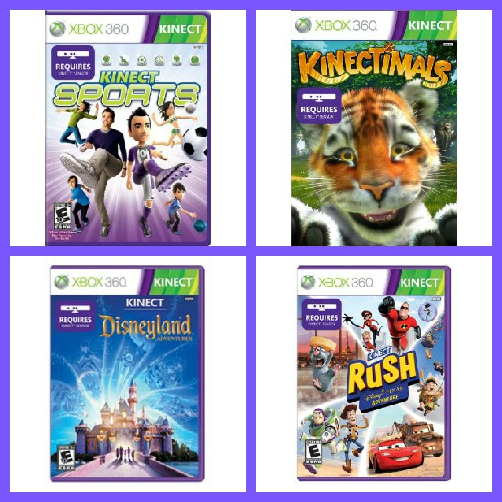 Xbox 360 Kinect Games for Everyone (4 Winners)