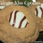 soft ginger kiss cookies