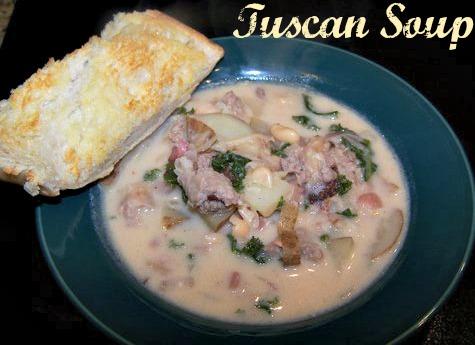 Tuscan Soup – 8 WW Points Plus