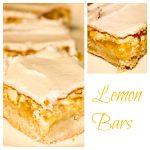 Frosted Lemon Bars using Meyer Lemons - My favorite lemon bar recipe ever!