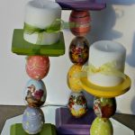 easter candle sticks