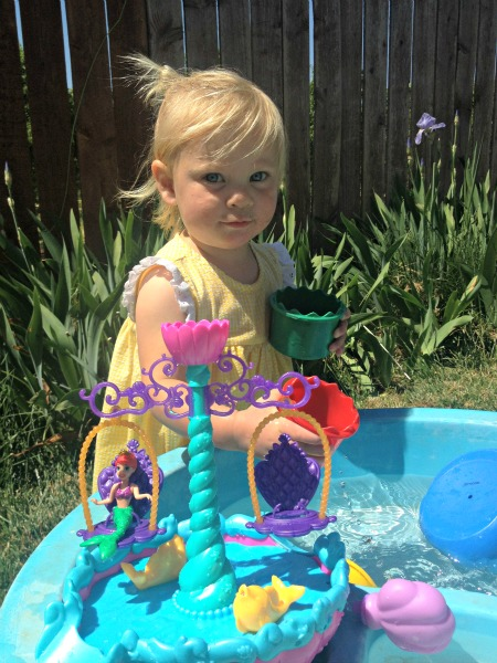 Tips for Summer Water Fun with Ariel's Floating Fountain