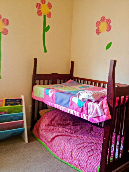 Crib To Toddler Bed Transformation