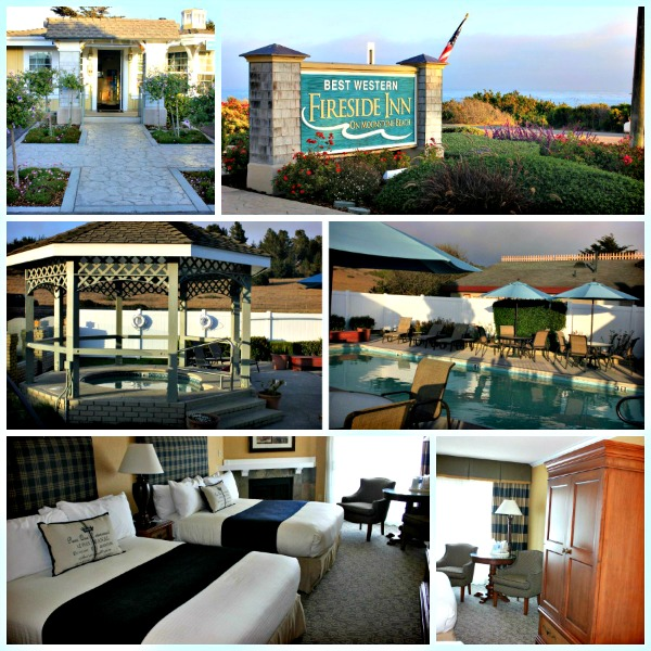 California Travel: The California Coast to Cambria Best Western Fireside Inn
