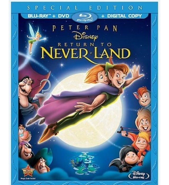 Rainy Day Fun with Disney's Peter Pan Return to Neverland