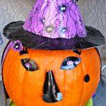 DIY Duck Tape Pumpkin Witch