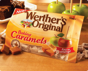 Easy Caramallow Dip with New Werther's Baking Caramels
