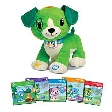 "Giving My Toddler a Puppy for Christmas With ""Read With Me Scout"" from LeapfFog"