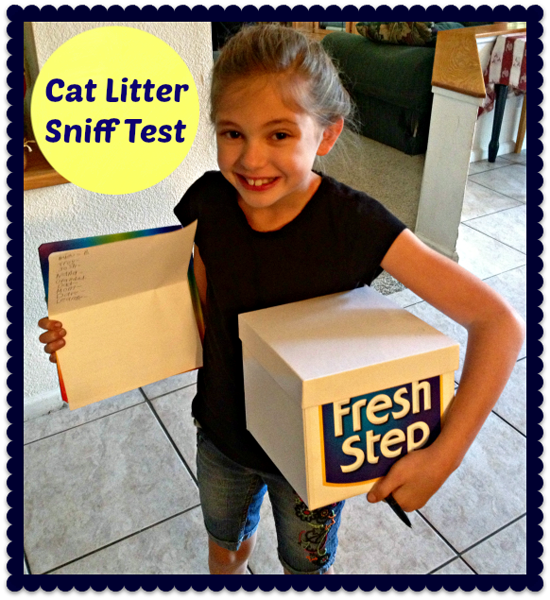 New Fresh Step Triple Action Litter Put to the Sniff Test (Giveaway)
