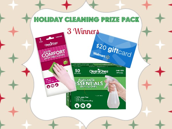 Clean Ones Pure Comfort Gloves Give You a Hand With Dirty Dishes: Holiday Cleaning Prize Pack
