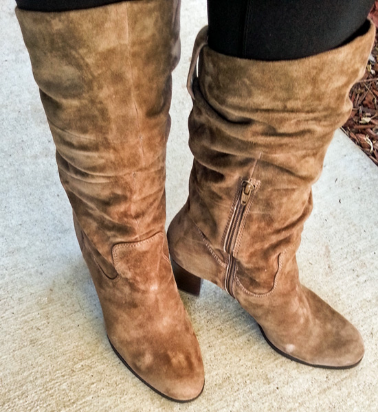 Fall & Winter Fashion with Naturalizer Boots: Lamont in Truffle Taupe