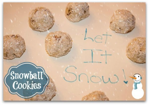 Snowball Cookies #FrozenFun #shop