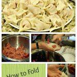 How to fold Wontons