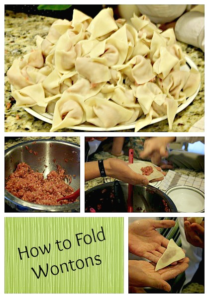 How to Make and Fold Wontons