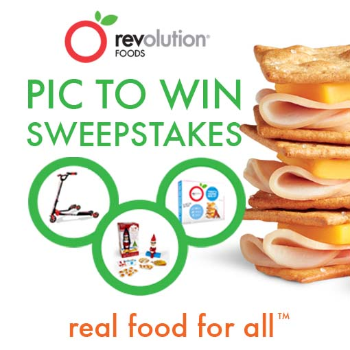 Revolution Foods Pic to Win Sweepstakes