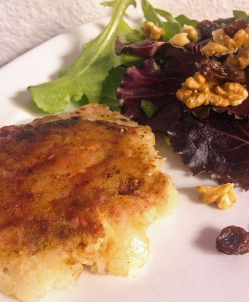 #40 Good Cook Leftover Recipe: Cranberry Glazed Salmon Cakes