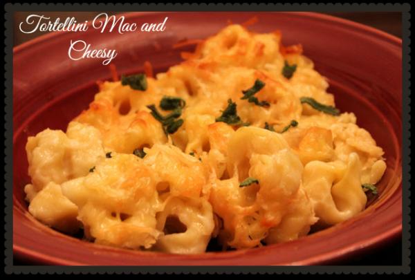 Tortellini Mac and Cheesy