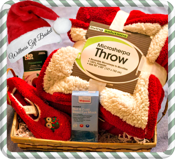 Gift basket ideas for wellness : Making up a wellness gift basket for the holidays
