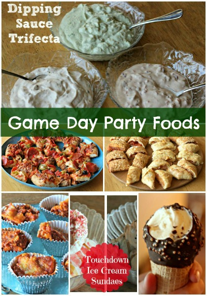 Game Day Party Foods and Recipes